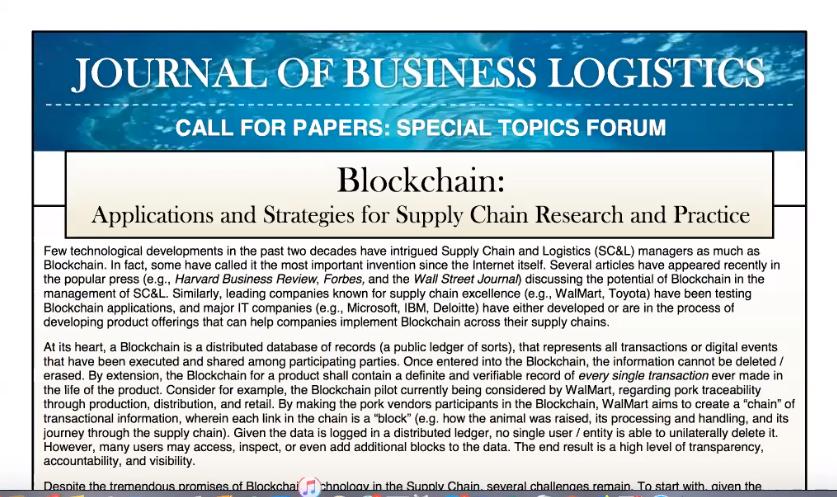 Block Chain Webinar
